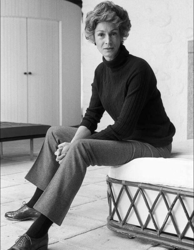 Marella Agnelli at the Villa Bona, 1969, from Marella Agnelli: The Last Swan