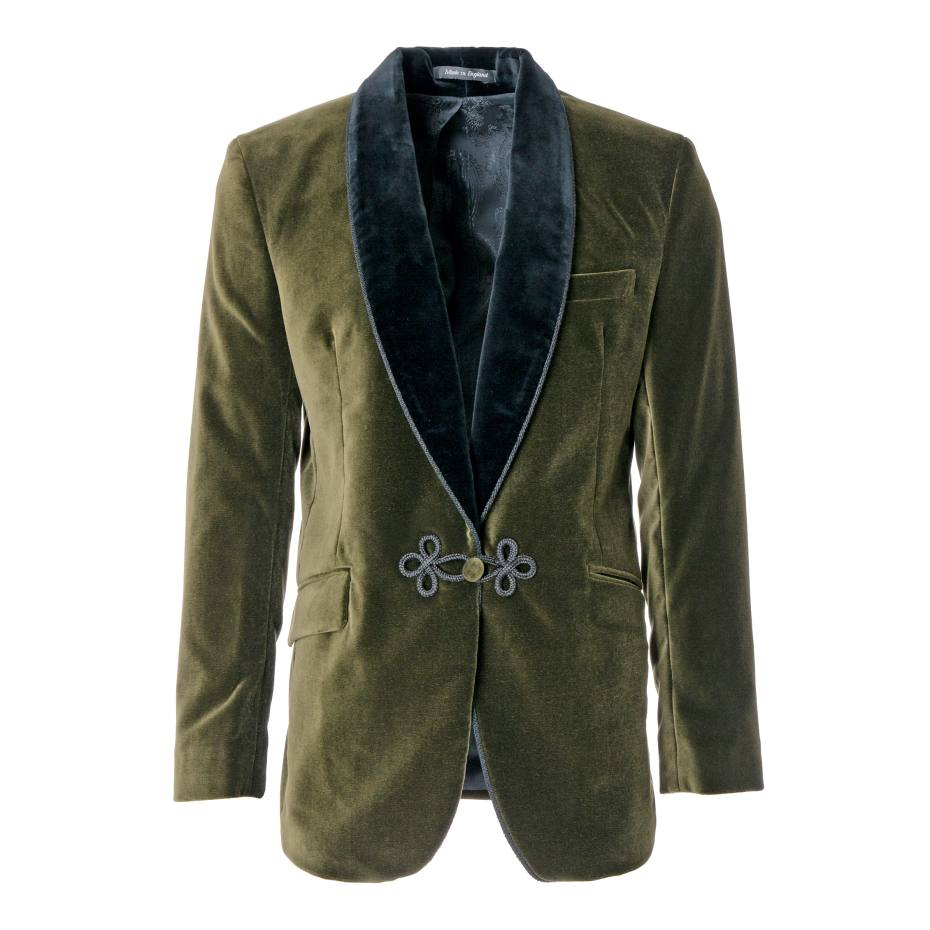 Velvet Olive Grosvenor Jacket, £690