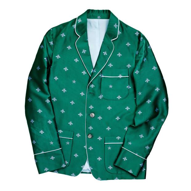 Gucci silk jacquard jacket, £1,290