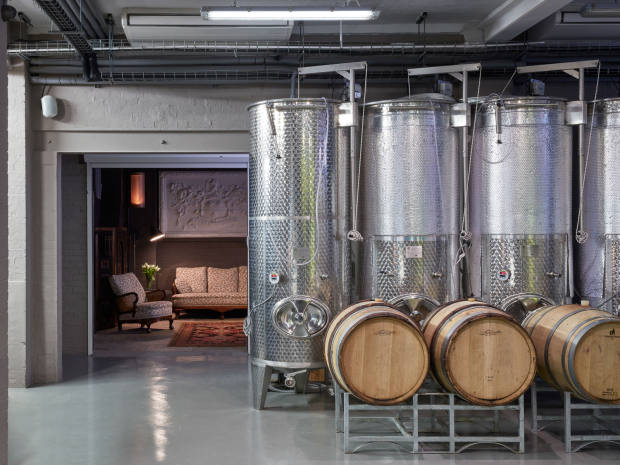 """The Roberson winery is """"London's first, fully operationalurban winery"""""""