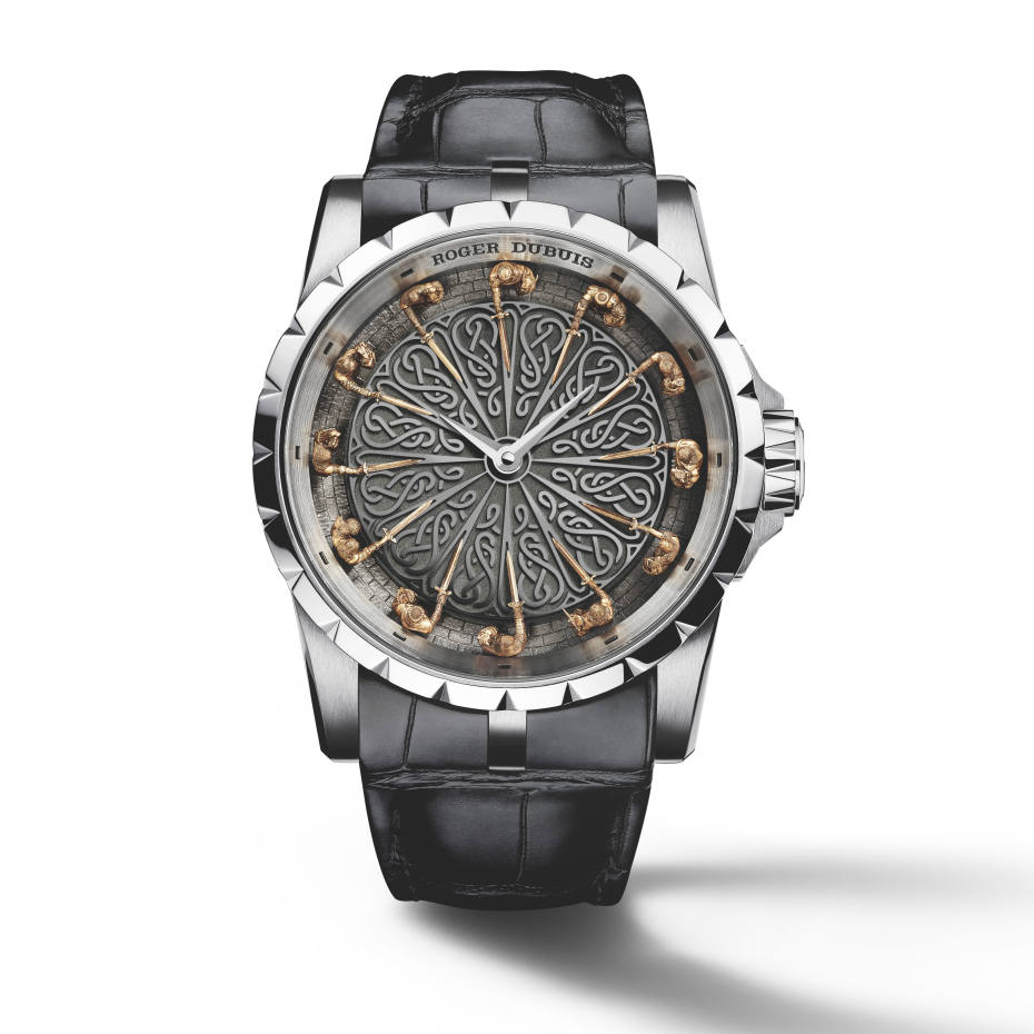 Roger Dubuis white-gold Excalibur Knights of the Round Table II watch, price on request, exclusive to Harrods
