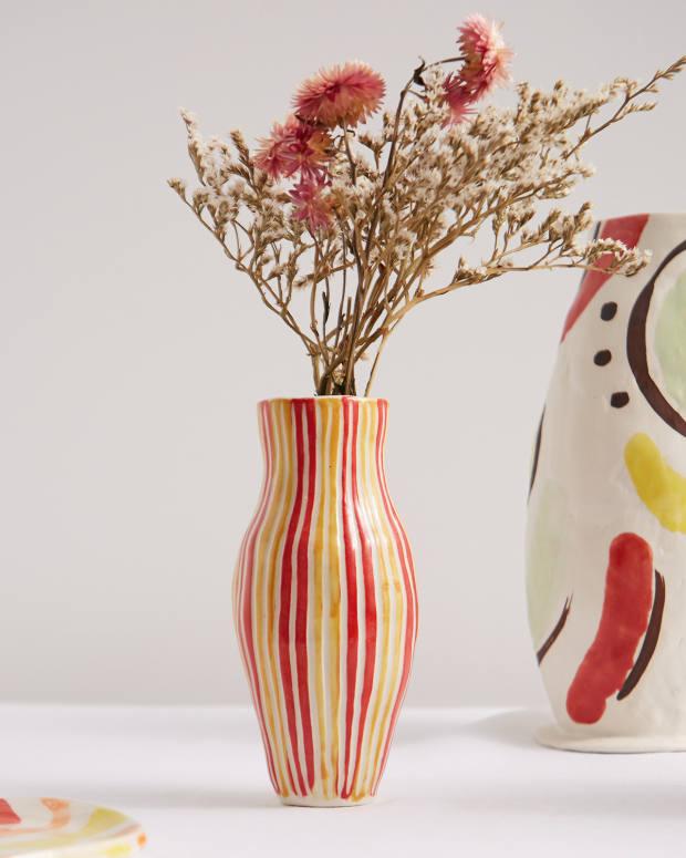 Jessica Hans JuicyFruit Bud vase,£105, from matchesfashion.com