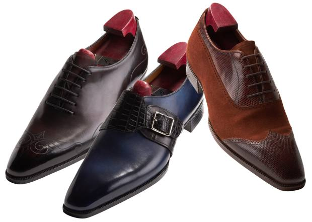 Gaziano & Girling bespoke clients still order traditional Oxfords, but are also ordering more casual shoes in greater numbers