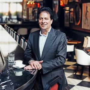 Ziel Feldman in the Grand Salon at the Baccarat Hotel in New York