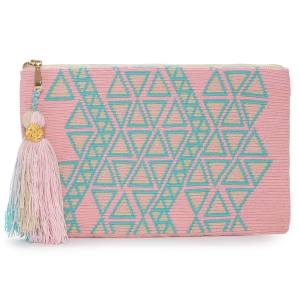 The Way U Peony clutch, $160, available from May 30