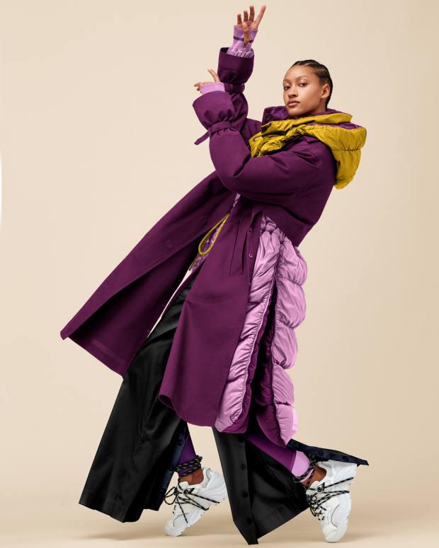 Roksanda x Lululemon Inner Expanse Infinity coat, £898