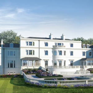 Coworth Park country-house hotel, near Ascot in Berkshire.