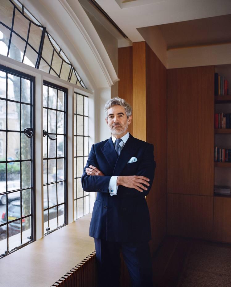 Juan Santa Cruz at home in London