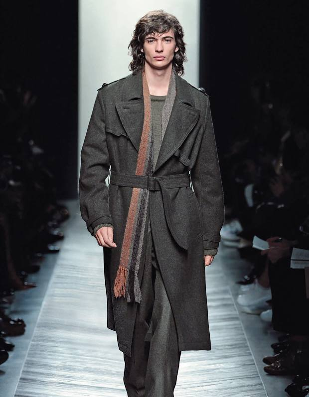 Bottega Veneta Loden wool trench, £1,935