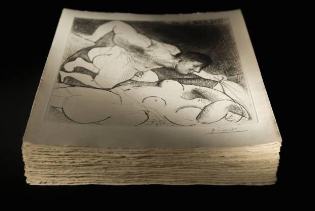 Vollard Suite by Pablo Picasso, comprising 100 signed prints, estimate €1.5m-€2m