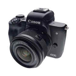 Canon EOS M50 with 15-45mm lens, £649