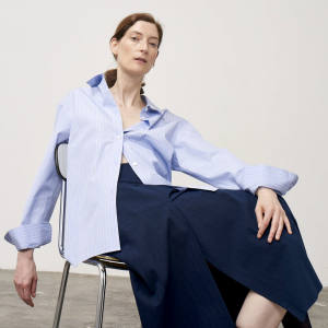 With its pared-down styling and avant garde Japanese silhouettes, Studio NIcholson has become the go-to label for the discerning gentlewoman