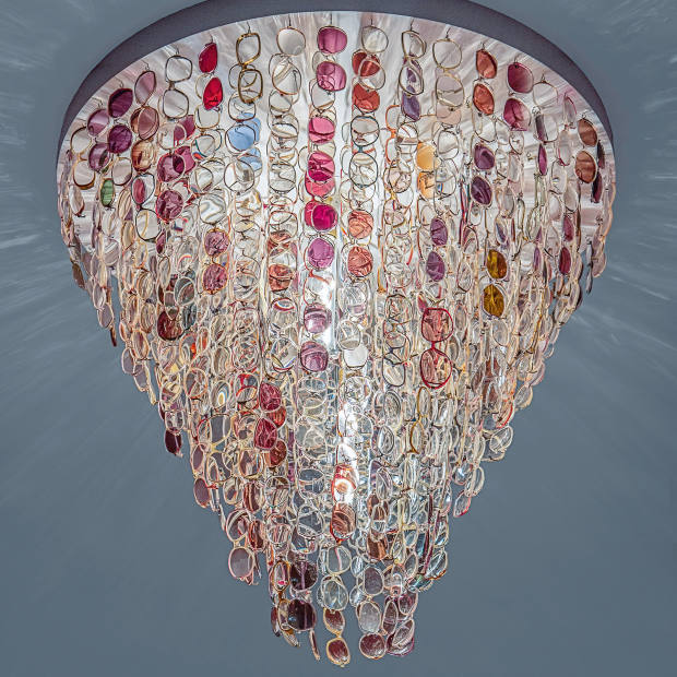 Stuart Haygarth Spectacle Mk.2 chandelier, from £5,000