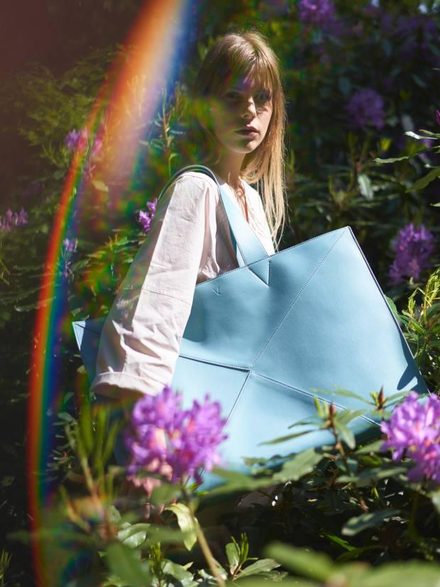 V by Townsley vegan-leather Eden bag, £450