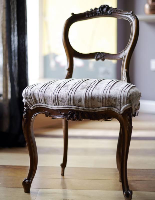 Occasional chair, £400 per pair