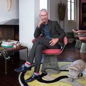 Nicolas Roche at home in Paris