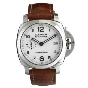 Panerai Luminor Marina 1950 3 Days automatic watch in steel with alligator strap, £5,500