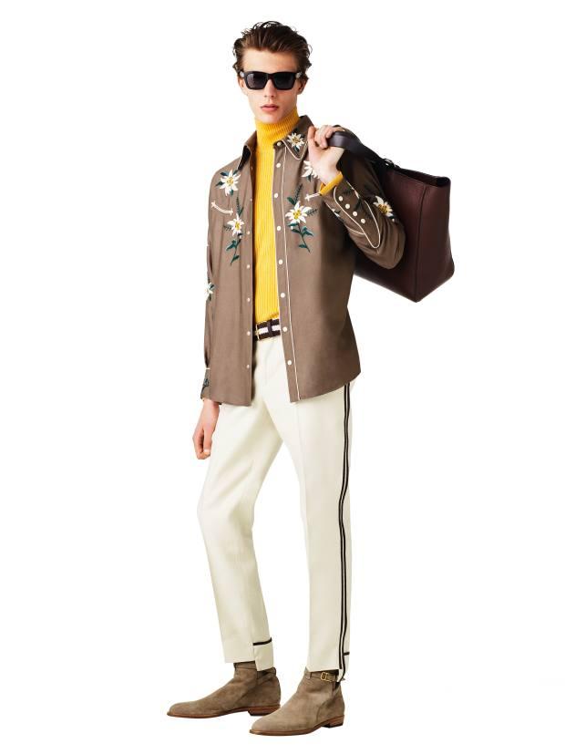 Bally viscose/silk‑twill shirt, £775