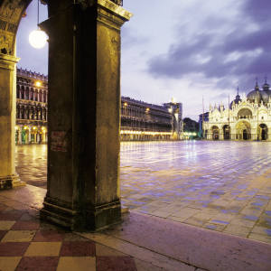 St Mark's Basilica and Square, Venice