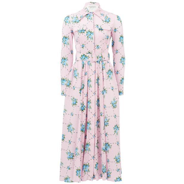 Emilia Wickstead dress, £1,420, from matchesfashion.com