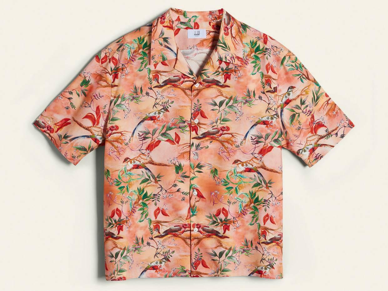 Dunhill printed silk shirt, £395