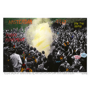 Amsterdam 1967-1968, from the series The Fire of Ideas (2016) by Marcelo Brodsky, will be showcased by Rolf Art at Unseen Amsterdam