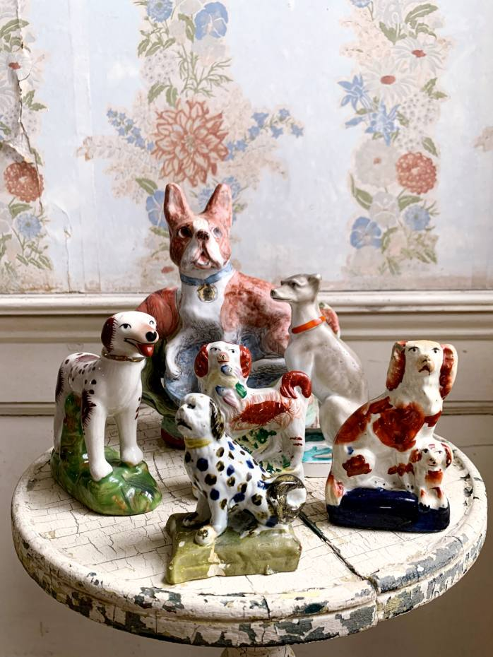 John Derian's collection in his Provincetown home
