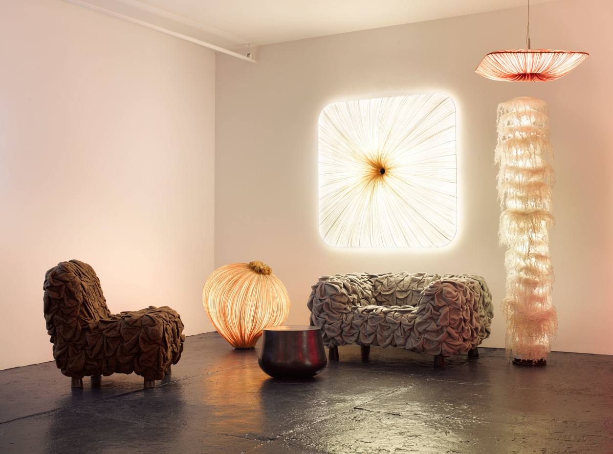 A selection of Aqua Creations' sculptural lights