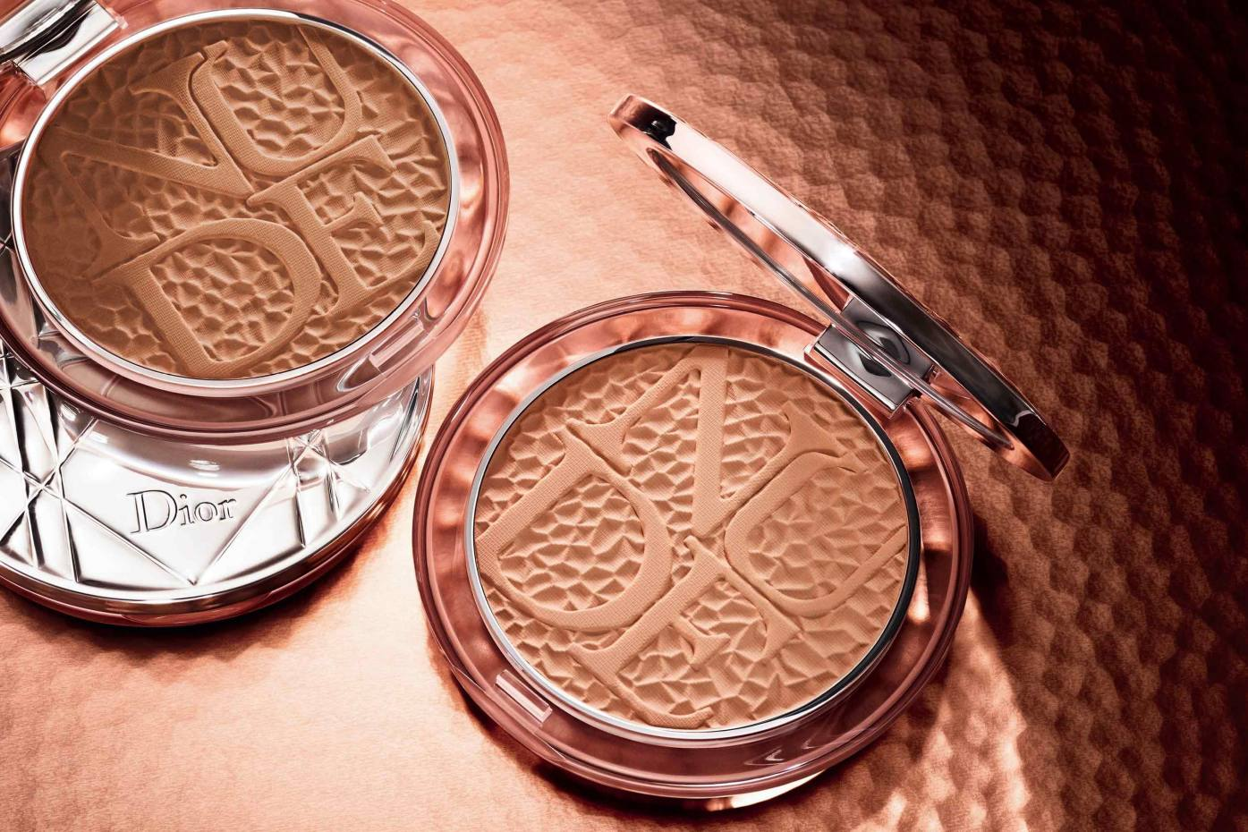 Diorskin Mineral Nude Bronze Wild Earth, £37, in Warm Terra (left) and Soft Terra (right)