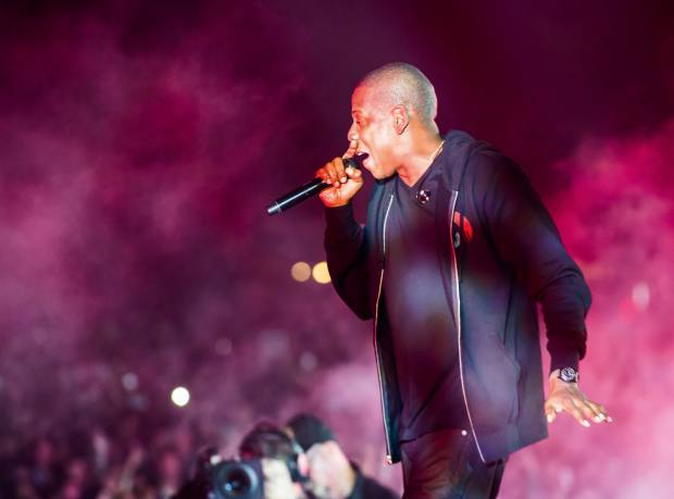 Jay Z at New York's Global Citizen Festival