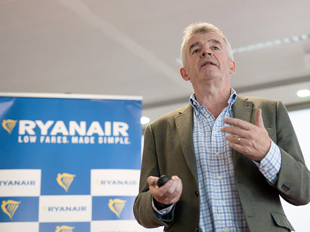 Ryanair takes strong action on costs