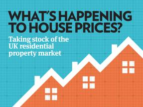 What's happening to house prices?