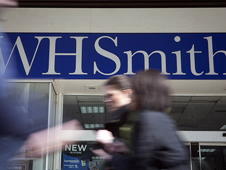 WH Smith's rating is out of date