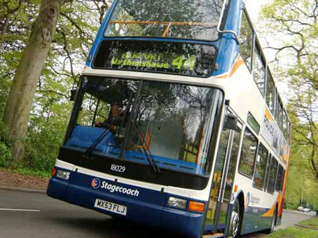 Stagecoach runs off the rails