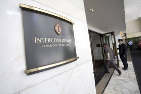 InterContinental books loss but recovery is under way