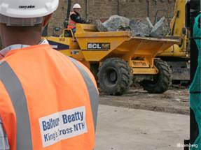Balfour Beatty chief exec tops up