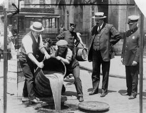 "Lessons from history: ""prohibition makes anything precious"""
