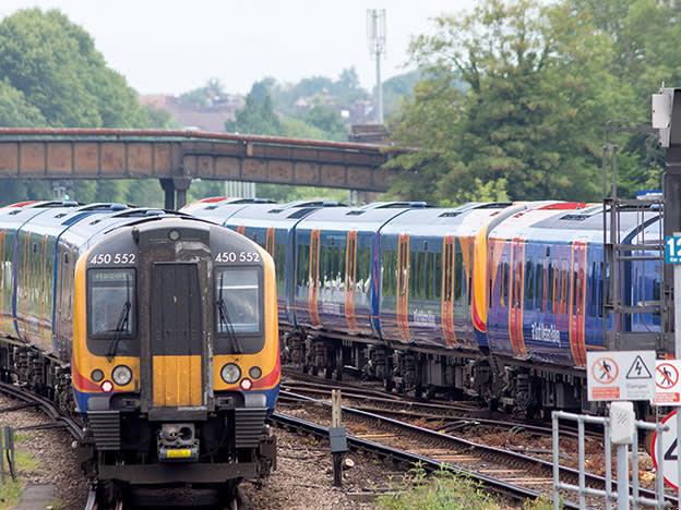 Rail shares crash as government scraps franchises