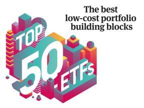 Top 50 ETFs 2019: Niche ETFs
