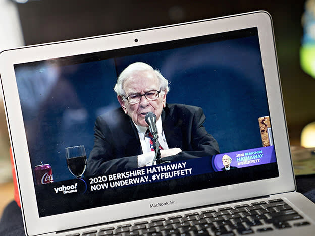 Berkshire Hathaway shares vs. an S&P 500 tracker