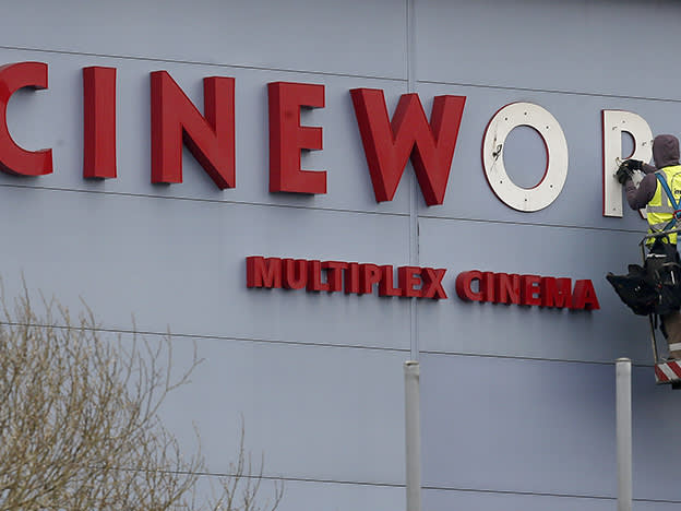 Cineworld highly leveraged following Regal acquisition