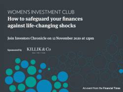 Women's Investment Club 12 November 2020