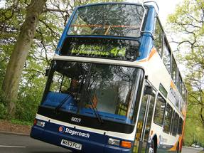 Stagecoach co-founder departs as focus shifts to bus