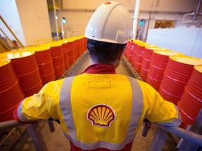 Shell borrows as oil tumbles further