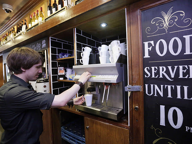 Wetherspoon prioritises sales over profits