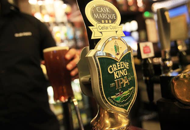 Buy cheap and cheerful Greene King