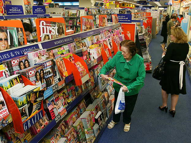 Travel still top for WH Smith