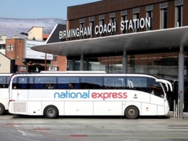 National Express motors ahead in first half
