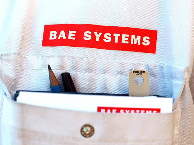 Take cover from BAE Systems