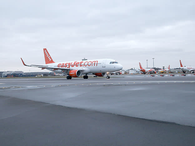 easyJet expects first-half pre-tax loss